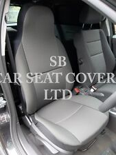 VAUXHALL ASTRA VAN SEAT COVERS - 2008 SPORTIVE RACK BLACK 2 FRONTS ONLY
