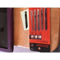 Black & Decker 75-530 Jig Saw Blade Set, 5 Pieces, Universal Shank