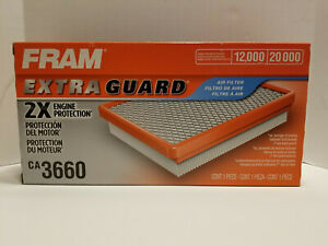 Fram Extra Guard CA3660 Air Filter New In Box Fits Audi Chrysler Dodge Ford