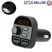Car FM Transmitter Bluetooth 5.0 USB Charger Handsfree Adapter MP3 Player Kit