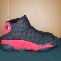 Nike Air Jordan 13 XIII ORIGINAL OG SZ 17 309259-061 XII BRED Black/Varsity Red