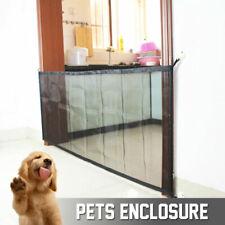 Mesh Pet Dog Gate Door Barrier Safe Guard Fence Enclosure Easy Install Net