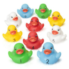 conteggio GOMMA Papere set - per bambini di 10 NUMERO BAGNO acqua giocattolo