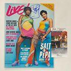 "SALT N PEPA (Rap Group) Signed Autograph Auto ""Live"" Magazine by 2 JSA COA"