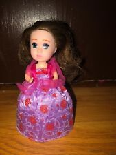 Vintage Tonka Cupcake Surprise Doll Brunette Princess So Cute Roses