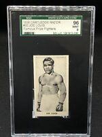 1938 Cartledge Razor Famous Prize Fighters Joe Louis #30 Rookie Rc SGC 96 PSA 9
