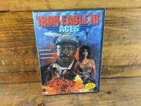 Iron Eagle 3: Aces (DVD, 2004) Authentic Release Complete With Insert! Free Ship