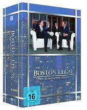 BOSTON LEGAL 1-5 DIE KOMPLETTE STAFFEL 1 2 3 4 5 DVD BOX SET DEUTSCH
