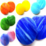 Large Stained Glass Circles for Mosaic Arts and Crafts - Various Colours
