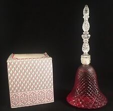 Avon Rosepoint Bell Decanter Charisma Cologne w Box Vintage 1970s Roses Bottle