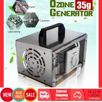 35000mg/H 200w Ozone Generator Machine Air Purifier Ioniser Cleaner Deodoriser