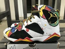 best service 82934 f9a29 NIKE AIR JORDAN RETRO 7 VII OC MIRO OLYMPIC MEN SZ 11 323213-161 USED