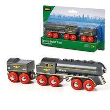 BRIO Speedy Bullet Train Wooden Train Engine 33697
