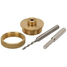 "Solid Brass Router Inlay Kit 1/8"" solid carbide down cut bit with 1/4"" shank"