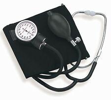 New Standard ADULT BP CUFF Blood Pressure KIT with STETHOSCOPE !