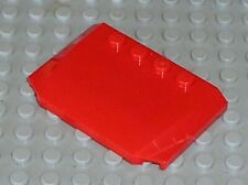Capot LEGO CITY Red wedge ref 52031 / Set 8160 7239 7945 7642 7208 7939 8159 ...