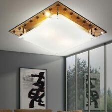 Ceiling lamp luminaire Glass Copper living dining living room mirror edge hall