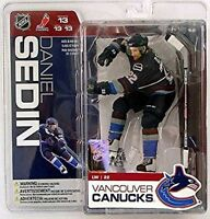 Daniel Sedin Vancouver Canucks McFarlane Action Figure NHL Series 13 New in Box