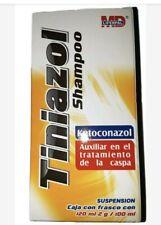 Tiniazol Shampoo 120ml Anti-Dandruff Shampoo Elimina la Caspa