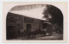 Mexico Pulqueria & Carreta Bullfighting Mural W. H. Jackson 1870s  Albumen Photo