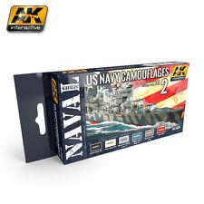 AK Interactive ak5020 US Navy COLORE MIMETICA Set 2 - 6x17ml
