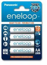4 x Panasonic Eneloop R6 AA 2000mAh BK-3MCCE/4BE rechargeable batteries 1900mah