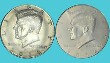 2012 P&D KENNEDY HALF DOLLARS TWO COINS SET UNCIRCULATED FROM MINT BAG and ROLLS