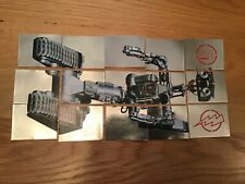 Panini Short circuit complete foil sticker set for poster