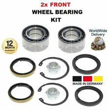 FOR SUZUKI SWIFT MK II 1.0 1.3 4WD 1989-2001 NEW 2x FRONT WHEEL BEARING KIT