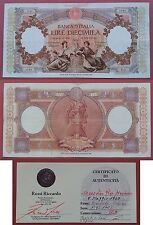 10000 Lire Repubbliche Marinare 8 maggio 1948 PERIZIATA BB