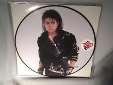LP MICHAEL JACKSON Bad (PICTURE DISC) 25th Anniversary 2012 NEW MINT SEALED