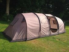 Gelert 3 Bedroom Saturn 8 Berth Person Family Waterproof Tunnel Tent Camping New