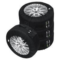 Petex Reifentaschenset Premium Schwarz 14-18 Zoll Reifen Aufbewahrung