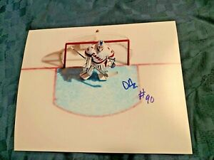 David Ayres Signed Autographed 8x10 Photo Carolina Hurricanes NHL Goalie