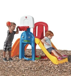 Step2 Game Time Sports Climber and Slide - Kids Toddler Outdoor Indoor Toy
