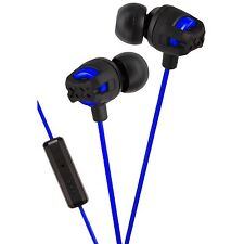 JVC Xtreme Xplosives Headphones with Remote and Mic Blue Music MP3