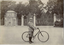 Photo Citrate Vélo Vélocipède Bicyclette Bike Vers 1890