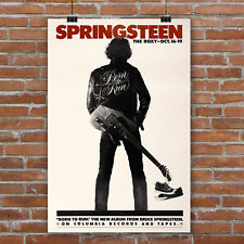 Bruce Springsteen Concert Poster Art Canvas Print Born to Run Live at The Roxy