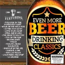 EVEN MORE BEER DRINKING CLASSICS (VARIOUS ARTISTS 2CD SET - SEALED + FREE POST)