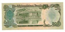 Afghanistan  500 afghanis  1979-1991   FDS UNC  Pick 60  Lotto 3016
