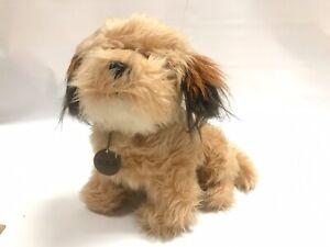 1978 DAKIN BENJI Plush Toy w/ Collar & Tag Scottie Dog