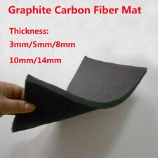 3/5/8/10/14mm Black Pan Based Graphite Carbon Fiber Cloth Fabric Mat Foil Felt
