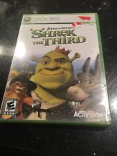 Shrek the Third XBOX 360 Brand New Factory Sealed