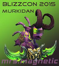 WoW Loot - Blizzcon 2015 Digital In-Game Goodies - Murkidan Pet - unused!