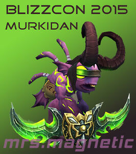 WoW Loot - Blizzcon 2015 Ticket Digital In-Game Goodies - Murkidan Pet - unused!