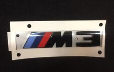 BMW M3 Rear Emblem in Black Authentic OEM 51148068580 Competition Package Logo