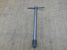 Starrett No 93e 732 716 T Handle Tap Wrench Usa Excellent