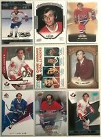 Guy Lafleur 9 Card Lot Montreal Canadiens Upper Deck MVP 78-79 Topps Vintage