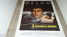 alain delon 3 HOMMES A ABATTRE ! affiche cinema