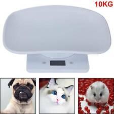 DE Digital Tierwaage Babywaage 10kg für Kinder Katzen Welpen und Kleintiere